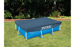 Тент для прямоугольного каркасного бассейна 400х200см Intex 28037