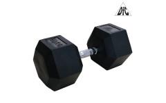 Гантели DFC гексагональные обрезиненные 50 кг. (пара) DB001-50