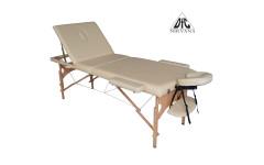 Массажный стол Dfc Nirvana, Relax Pro , дерев. ножки, цвет бежевый (Beige)