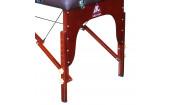 Массажный стол Dfc Nirvana, Relax Pro , дерев. корич. ножки, цвет коричн (Brown)