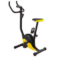 Велотренажер  DFC B8012 черн/желт