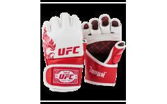 MMA Перчатки UFC Premium True Thai белые, размер L