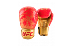 (Перчатки для бокса UFC PRO Thai Naga 12 Oz - красные)