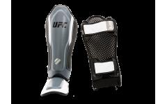 Защита голени с защитой подъема стопы (Серая - S/M) UFC