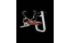 Пресс-скамья Bronze Gym H-032 (коричневый)