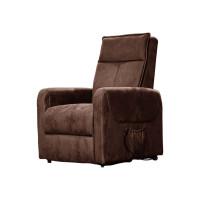 Массажное кресло-реклайнер EGO Lift Chair 4004 Шоколад