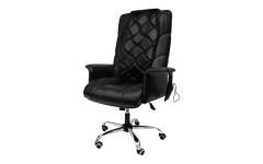 Офисное массажное кресло EGO PRIME EG1003 АНТРАЦИТ (Арпатек)